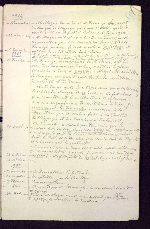 Visuel du media #8 - Lettres relatives à Saint-Jean, au Palais, à l'Hypogée, page 2