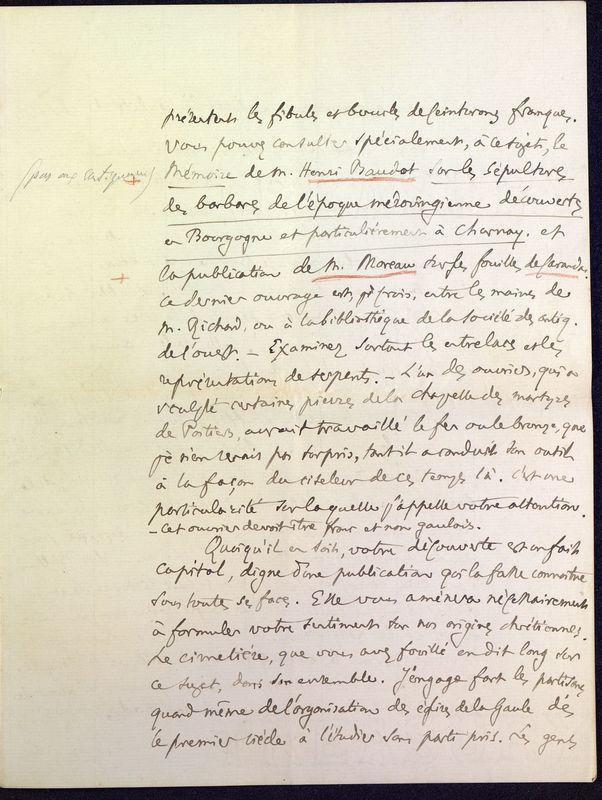 Visuel du media #3 - Lettre de Fillon à De La Croix du 14 novembre 1879, page 7