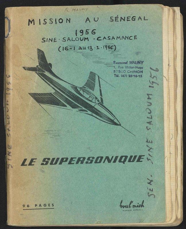 Visuel du document Mission au Sénégal, Sine-Saloum-Casamance, 1956