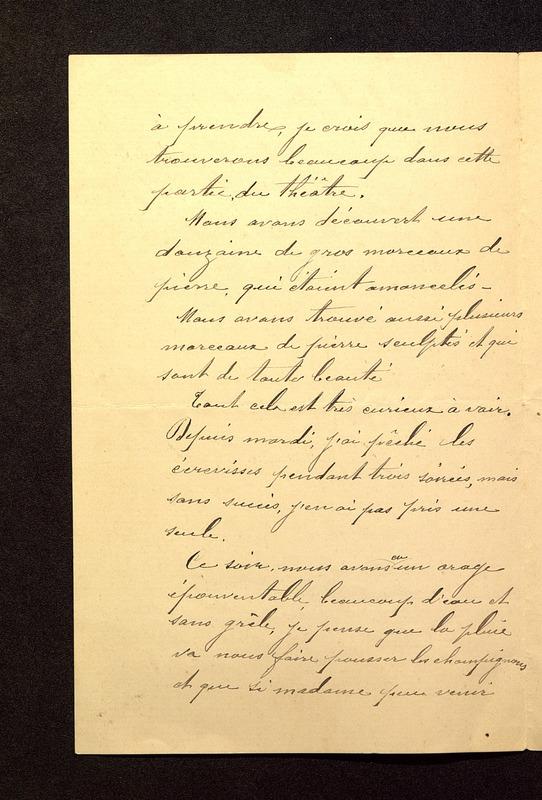 Visuel du media #2 - Lettre de Beaunard du 01 juin 1901, page 2