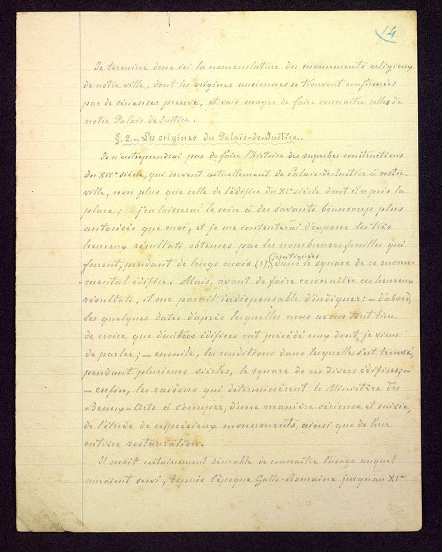Visuel du media #9 - Manuscrit sur le Palais de Justice, page 3