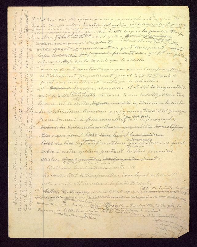Visuel du media #8 - Manuscrit sur le Palais de Justice, page 2