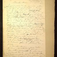 Lettre de De La Croix à Viollet-le-Duc du 30 janvier 1883