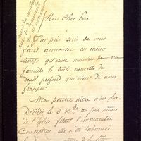 Lettre de Dumuÿs à De La Croix du 14 décembre 1885, page 1