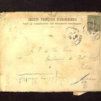 Enveloppe de Lefèvre-Pontalis à De La Croix du 29 avril 1905