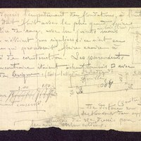 [Notes manuscrites, Poitiers (Vienne)] page 1