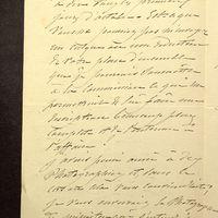 Visuel du media #10 - Lettre de Lisch à De La Croix du 14 septembre 1882, page 2