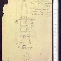Notes et calculs, Pyramide de Saint-Hilaire, page 1
