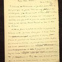 Visuel du document Correspondance avec Salomon Reinach (1897-1910)